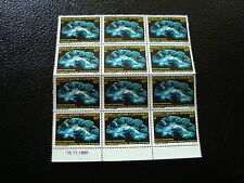 NOUVELLE-CALEDONIE - timbre - yt aerien n° 209 x12 (majorite n**) (Z2) stamp