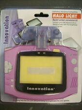 Gameboy Advance Halo Light Glacier Afterburner Back Light for GBA Game Boy NEW!