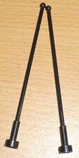 Lego 2 große Antennen in schwarz