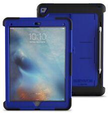 "NEW Griffin Survivor Slim Case 12.9"" iPad PRO Blue/Black rugged kickstand fold"
