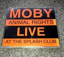 MOBY - Animal Rights Live at the Splash Club (PROMO CD 1996) PCDSTUMM150