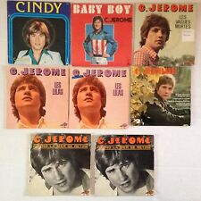 LOT DISQUES 45T SPECIAL C. JEROME