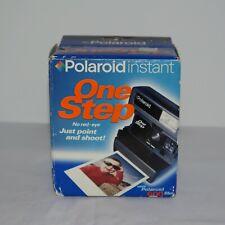 Polaroid OneStep 600 Instant Film Camera With Box Vintage Camera