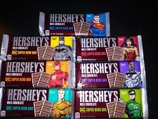 Hersheys chocolate Bar DC Justice League Hero's Complete Set Of 7