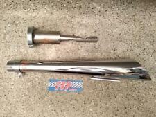 scarico custom candela 45mm custom exhaust spark plug harley davidson special