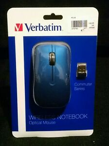 Verbatim Wireless Notebook Optical Mouse Commuter Series 99766 - Mouse - Optical