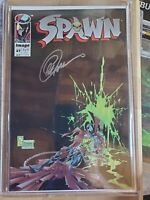 Spawn #27 (1995) Image Comics Autographed Greg Capullo VF/NM with COA