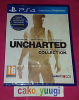 UNCHARTED THE NATHAN DRAKE COLLECTION NEUF NEW SONY PS4 100% FRANCAISE
