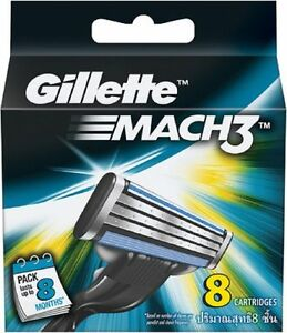 24 Lames De Gillette MACH3 Cartouche Lame Avec Nano Fin Lame Pour Lisse Raser
