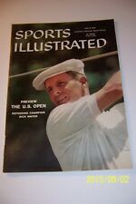 1958 Sports Illustrated THE US OPEN Dick MAYER Southern Hills TULSA OK No Label