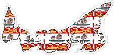 Prince Edward Island Map Flag Decal / Sticker