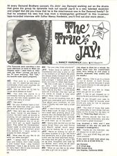 Jay Osmond, Osmonds, Full Page Vintage Clipping, Brothers