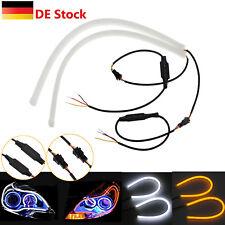 2x 45cm LED Auto Tagfahrlicht DRL Strip Streifen Lampe Leuchte Switchback 12V DE