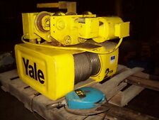 Yale 2 ton hoist with power trolley
