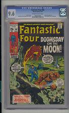 Fantastic Four #98 CGC 9.6 NM+ Unrestored Marvel Kree Sentry OFF-WHITE/WHITE Pgs