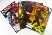 MARVEL Comics DEADPOOL (2008) #1 2 3 4 5 LOT VF/NM Ships FREE!