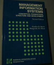 Management Information Systems: Conceptual Foundations, Structure and Develop.