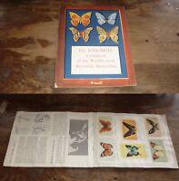 1950s AUSTRALIAN VITABRITS BEAUTIFUL BUTTERFLIES SET OF 30 CARDS IN BOOKLET