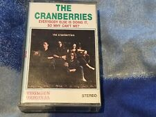 THE CRANBERRIES - EVERYBODY ELSE IS DOING IT... RARE THOMSUN CASSETTE RELEASE