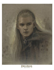Legolas Greenleaf /  Lord of the Rings paper giclee by Jerry VanderStelt
