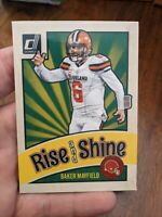 2020 Panini NFL Donruss SP Baker Mayfield Rise & Shine Magnet Rare Exclusive 🔥