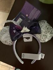 Minnie Mouse Main Attraction Space Mountain Ears January 1 Of 12 New With Tags