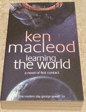 Ken MacLeod SIGNED Learning the World (Paperback)