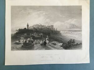 Middle East, engraving, Jaffa, the ancient Joppa, 1843