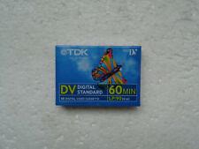 Cassette Vierge pour Camescope MiniDV TDK DV 60 - Mini DV Neuf