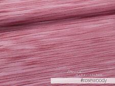 """Jersey-Stoff Mädchen Baby Damen Streifen rosa beere""""painted #rosewood"""" 0,5m"""