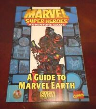 A Guide to Marvel Earth  Marvel Super Heroes Adventure Game TSR Saga System 1998