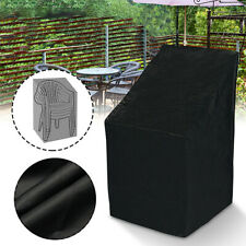 Stacking Chair Cover Uv Waterproof Outdoor Garden Patio Furniture Chairs Cover