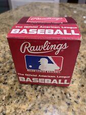 Official MLB Baseball American League Bobby Brown Baseball