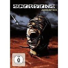 """SCORPIONS """"ACOUSTICA"""" DVD NEU"""