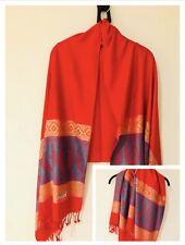Quality Long Scarf Ladies Women Elegant Pashmina Colorful Shawl Double Sided