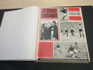 LO SPORT ILLUSTRATO anno 1965 COMPLETO 1 / 48 albi ORIGINALI !!