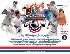 2018 Topps Opening Day Baseball Hobby box 36 packs!! Box-IN HAND look 4 OTANI