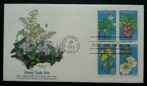 [SJ] UUSA Endangered Flora 1979 Flower Plant (stamp FDC)