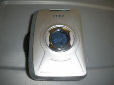 Coby Walkman Cx-49 Portable Am/Fm Radio Tape Cassette Player with Belt Clip