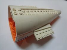 LEGO Aircraft Fuselage Curved Aft Section orange (54701)