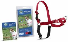 PetSafe Easy Walk Dog Harness Clamshell High-Quality Nylon Durable Small Red