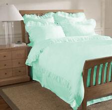 Egyptian Cotton 800TC Edge Ruffle Duvet Cover Set All Size & Color