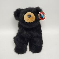 "Bearington 11"" Plush Bear Baby Bandit Style 2010S Black New With Tags"