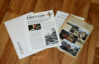 Far Cry 5 Rare German Press Kit Paper Work Ad Advertising Xbox One PS4 Ubisoft