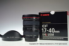Canon EF 17-40mm f/4 L USM Excellent