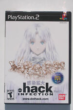 .hack INFECTION PS2 US NTSC in Like New and Complete Condition w/ Anime DVD RARE