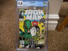 Iron Man 287 cgc 9.8 Marvel 1992 WHITE pgs MINT vs Atom Smasher cover Avengers
