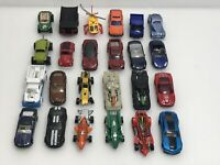 Lot of 24 Loose Diecast Cars Hot Wheels/ Mattel Matchbox & Helicopter
