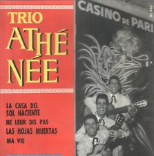 TRIO ATHENEE EP Spain 1965 The house of the rising sun +3