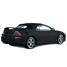 Mitsubishi Eclipse 2000-2005 Convertible Soft Top & Glass window Black Stayfast